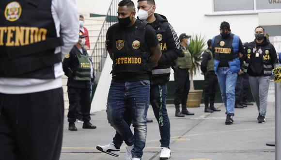 """Policía desarticuló banda """"Los Gatilleros de San Martín de Porres""""  (Foto: Diana Marcelo)"""