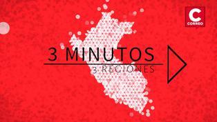 Noticias de regiones en 3 minutos: ¿Qué ha pasado en Huancayo, Ica y Puno?