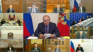 Vladimir Putin aislado por caso de COVID-19 en su entorno