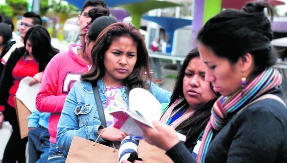 El lunes incia feria para encontrar empleos en Ecuador, Chile, Argentina, Panamá y Perú. (Foto: GEC)