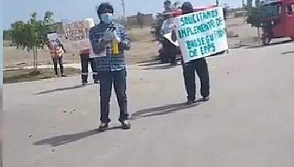 Pisco: Personal municipal pide entrega de equipos de protección