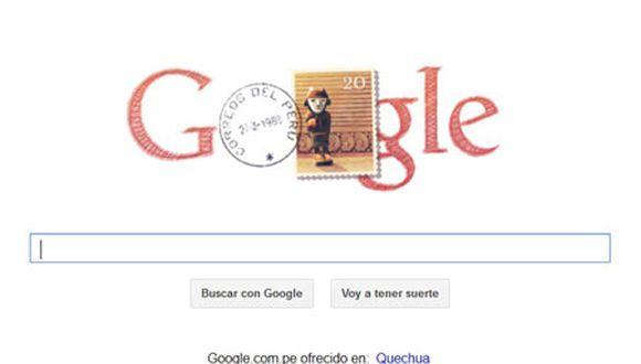 Google se suma a homenaje al Perú por aniversario patrio