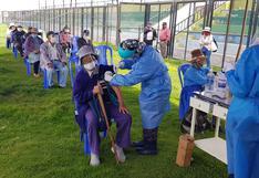 Arequipa: este jueves vacunan a mayores de 60 años que no recibieron primera o segunda dosis