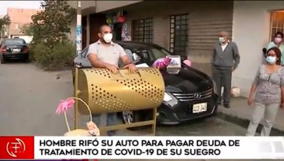 Espinoza asegura que seguirá buscando otras formas para recaudar fondos y así cancelar la deuda que mantiene su familia. Foto: captura