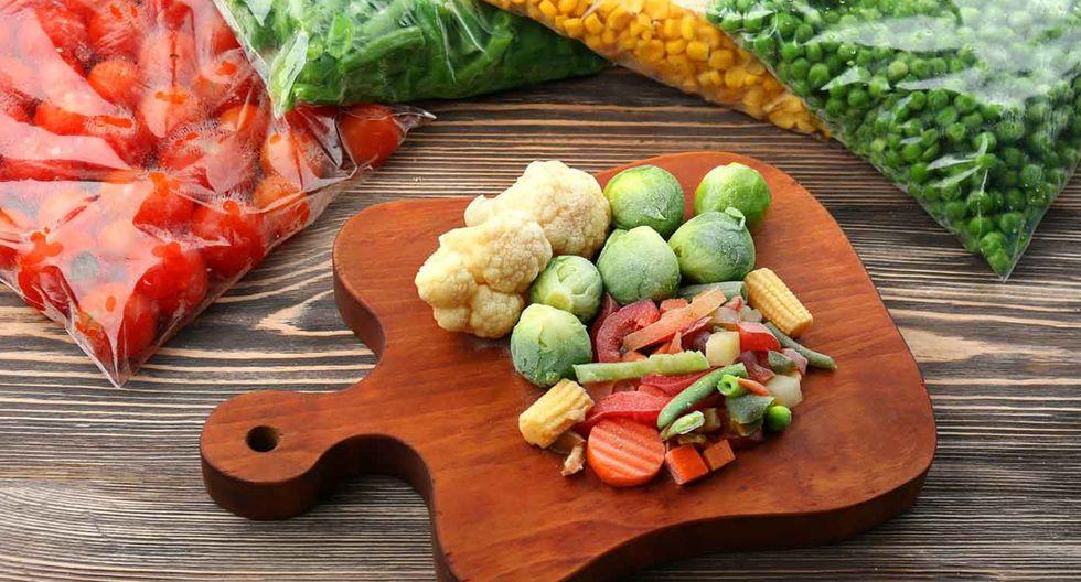 Uno de los mejores métodos para conservar los alimentos frescos son congelándolos. (Foto: Shutterstock)