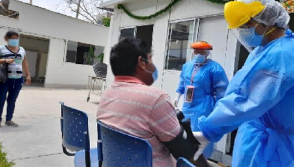 Incrementan casos de jóvenes con COVID-19 en el Hospital Regional de Ica (Foto: Andina)