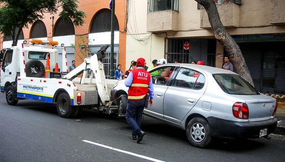 Un problema que se repite a diario. Conozca los pasos a seguir para sacar el auto del depósito. (Foto: ATU)