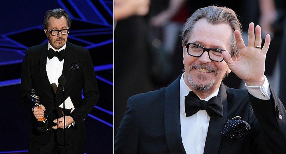 Gary Oldman gana el Óscar a Mejor Actor por 'Las horas más oscuras)