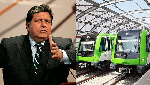 Fuerza Popular y el APRA blindaron a Alan García por caso Línea 1 del Metro de Lima