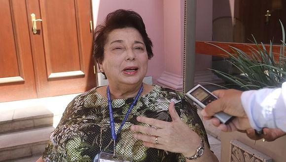 Ex Defensora del Pueblo, Beatriz Merino esta a favor de la bicameralidad