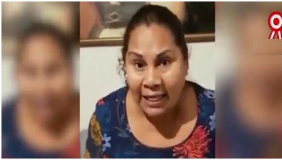 """La cantante peruana se volvió viral durante la cuarentena al interpretar el tema """"Escucha a tu madre"""" para exhortar a los ciudadanos a que no salieran de sus casas para respetar las normas. (Foto: Panamericana TV)"""