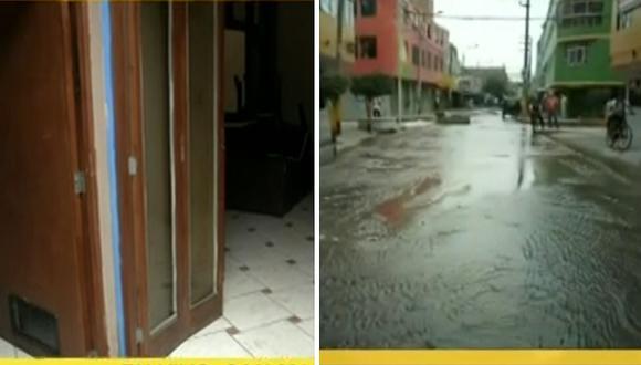 Rotura de tubería afectó 200 viviendas en San Martín de Porres