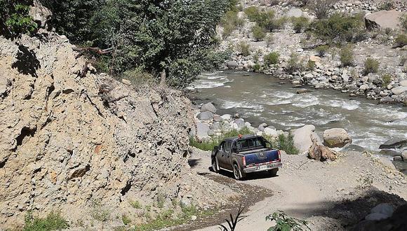 MTC transfiere 5 millones para obras viales en 3 provincias de Arequipa