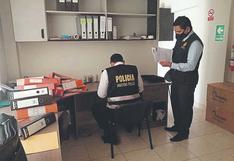 La Fiscalía allana las oficinas de proveedor de oxígeno de la Municipalidad Distrital de El Alto
