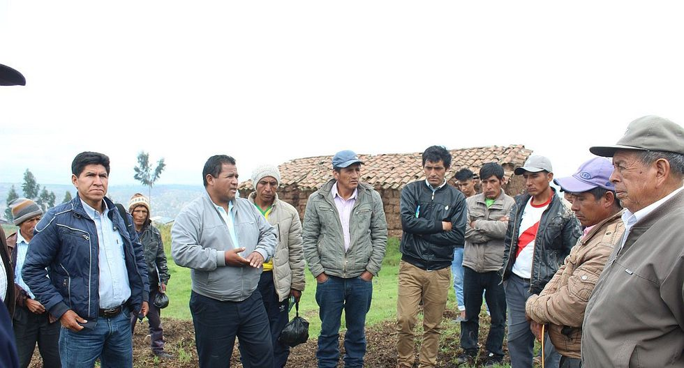 En Acos Vinchos más de dos mil hectáreas de cultivo dañado por granizada