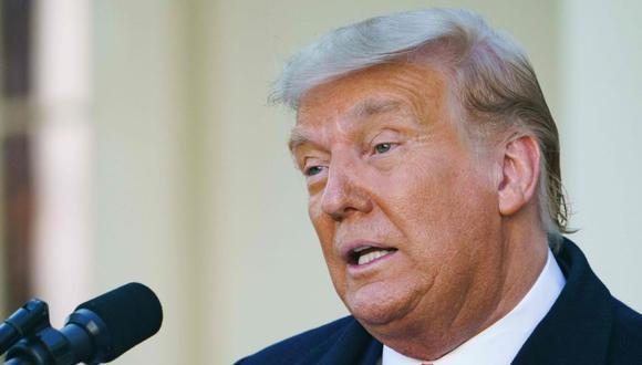 Trump dice que dejará la Casa Blanca si se confirma la victoria de Biden. (Foto: MANDEL NGAN / AFP)