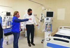 Presidente Martín Vizcarra pone en funcionamiento hospital para pacientes con COVID-19