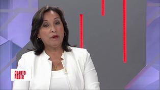 "Dina Boluarte sobre Ricardo Belmont como asesor de Pedro Castillo: ""Me enteré por las noticias"" (VIDEO)"