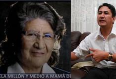 UIF congela millón y medio a Bertha Rojas, mamá de Vladimir Cerrón: tendría presunto rol de testaferro