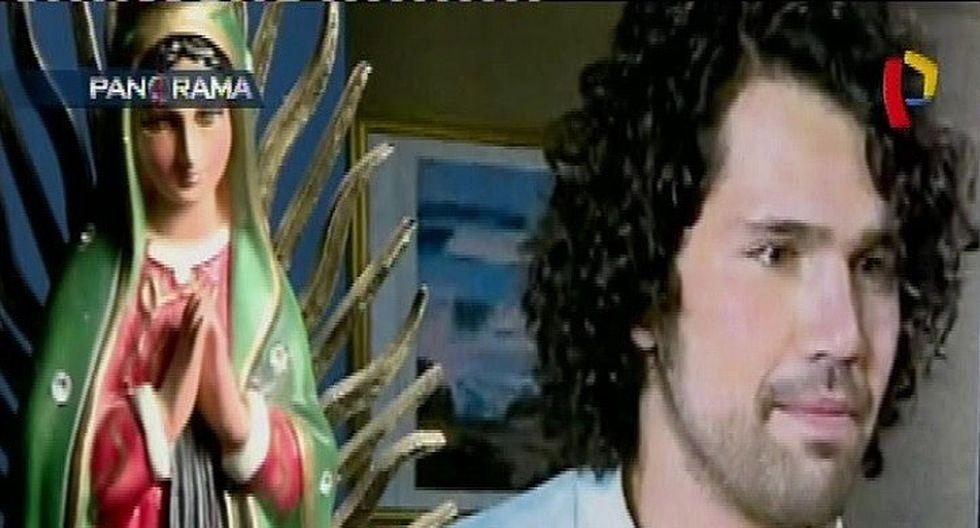Difunden imágenes de la detención del actor mexicano con droga en aeropuerto Jorge Chávez