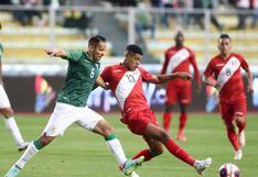 Perú (0) vs. Bolivia (1): selección peruana cayó ante Bolivia en encuentro en La Paz