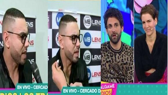 "'Coto' Hernández se molesta en vivo con 'Válgame Dios': ""Me están buscando un problema innecesario"" (VIDEO)"