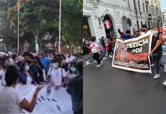 Silvano Oblitas: realizan marchas en Lima y Huánuco por peruano lanzado desde puente en Colombia (VIDEO)