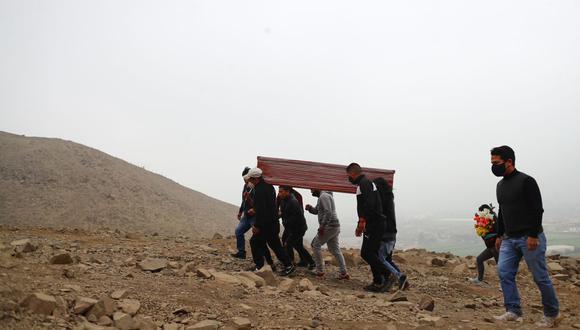 Esta semana se conoció que el cementerio El Angel ha colapsado por la enorme cantidad de fallecidos por COVID-19. (Foto archivo GEC)