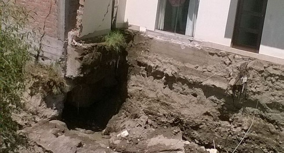 Arequipa: Municipio culpa a propietarios de ganar terreno al cauce