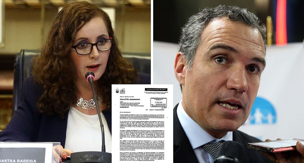 Rosa Bartra envió carta a Salvador Del Solar en donde le pide respeto a la democracia, diálogo y consenso