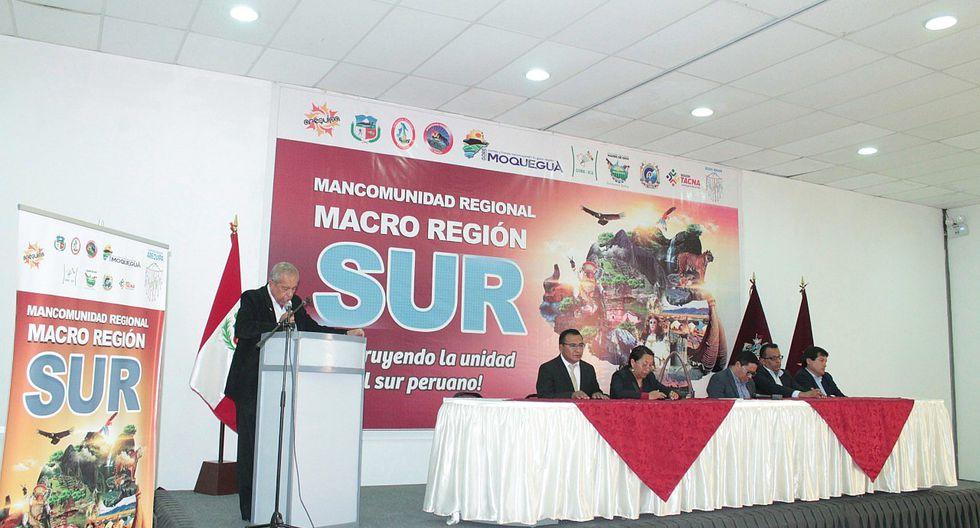 Seis regiones del sur se unen para formar nueva Macroregión
