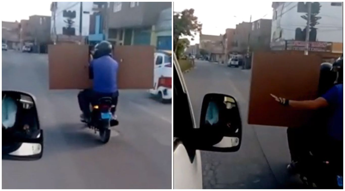 dos-hombres-trasladan-gran-mueble-a-bordo-de-una-motocicleta-en-comas-video