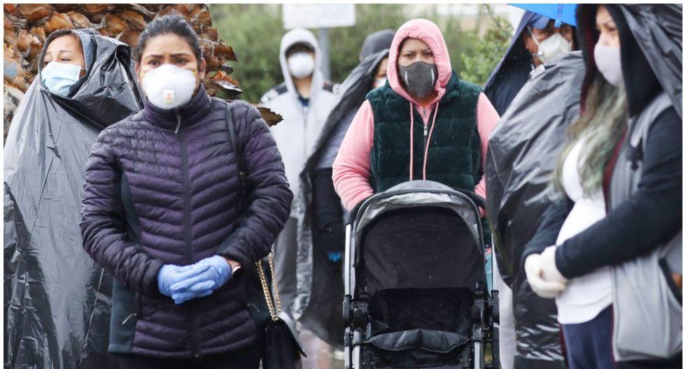 Estados Unidos tuvo un descenso en la cifra de fallecidos por coronavirus en relación al día anterior. (Foto: AFP/MARIO TAMA)