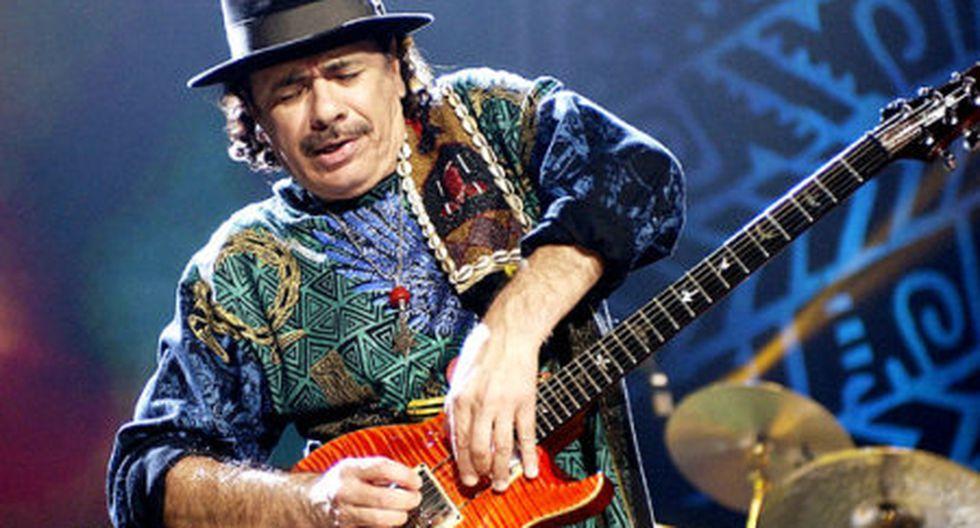 México: Santana dará un concierto gratuito en el Ángel