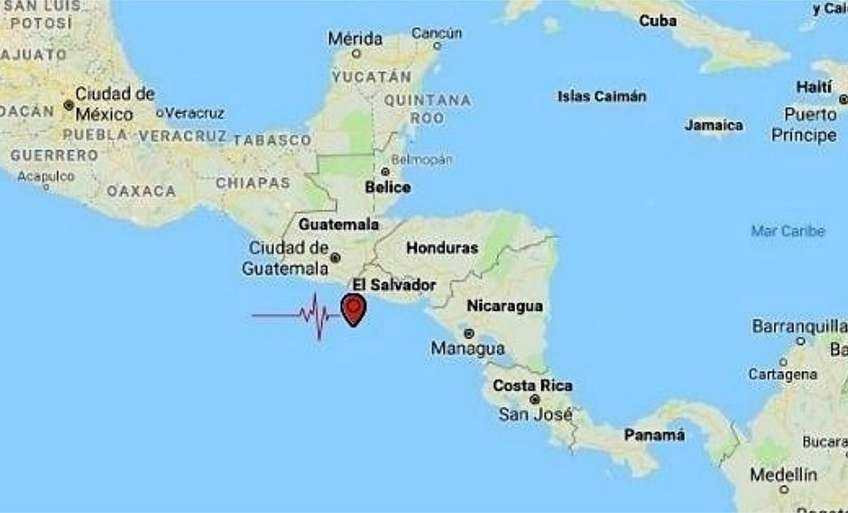 Centro América: terremoto de 5,9 pone en alerta a El Salvador, Honduras y Nicaragua