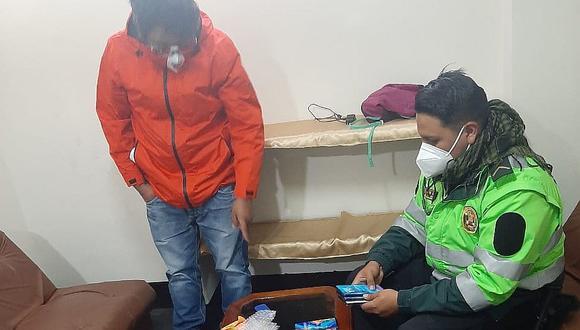 Huancavelica: Con modalidad de cambiazo, hurtaba costosos celulares