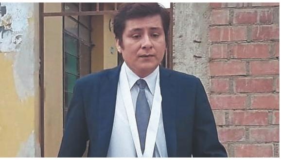 Su deceso se registró en la mañana, luego de permanecer varios días internado en la UCI del hospital Almanzor Aguinaga Asenjo.