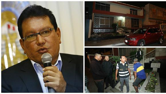 Odebrecht: Policía allana la casa del gobernador del Callao Félix Moreno (VIDEO)