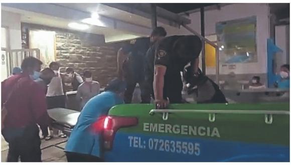 Tres personas, entre ellas un menor de edad, quienes viajaban en una motocicleta, resultaron lesionadas tras chocar su vehículo con una motokar en la villa Puerto Pizarro, en la región Tumbes.
