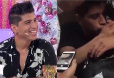 """Jhon Kelvin tras besar a su amigo: """"No lo veo después de mucho tiempo y recordar es volver a vivir"""" (VIDEO)"""