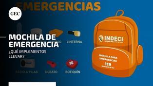 Sismo en Matucana: ¿qué elementos debe contener la mochila de emergencia y cómo prepararla adecuadamente?