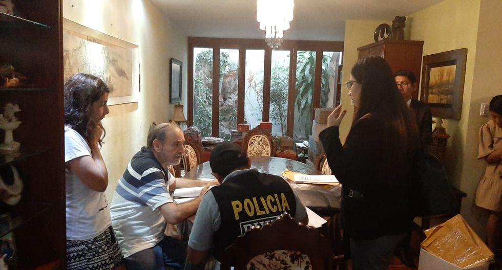 Yehude Simon fue encontrado dentro de su inmueble ubicado en Surco esta mañana. (Foto: Difusión)