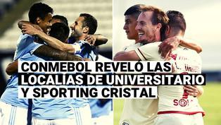 Conmebol reveló dónde jugarán Universitario y Sporting Cristal ante rivales brasileños por Copa Libertadores