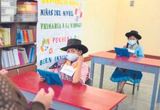 Áncash: Tres colegios con clases semipresenciales