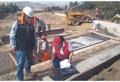 Chimbote: Alertan riesgos en obra de canal de regadío