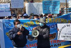 Buscan legalizar el nuevo taxi cholo en la ciudad de Juliaca