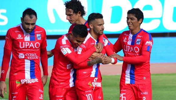 El mediocampista Patricio Arce marcó el tanto de la victoria del cuadro tricolor en el Estadio Miguel Grau del Callao. (Foto: CAM)
