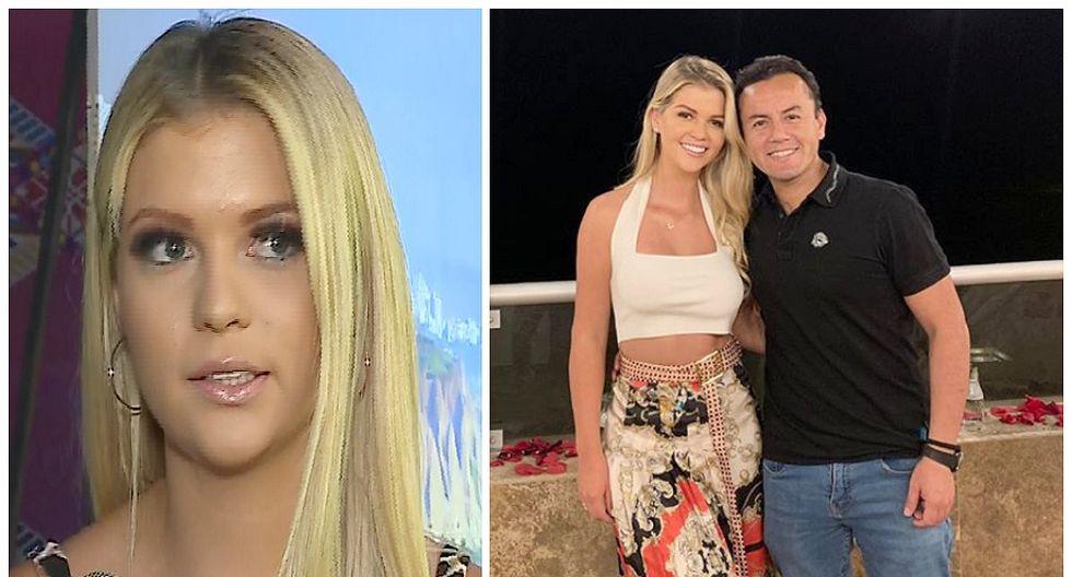 """Brunella Horna al ver que joven le pidió matrimonio a Richard Acuña: """"Qué atrevida esa muchacha"""" (FOTO)"""