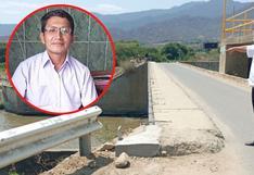 Piura: Familiares creen que trabajador de salud hallado muerto en un puente fue asesinado por ladrones
