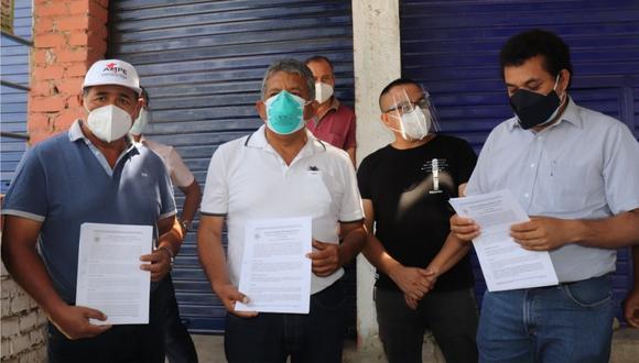 Alcaldes de El Porvenir y Florencia de Mora firman actas de límites territoriales para favorecer a la creación de nuevo distrito.